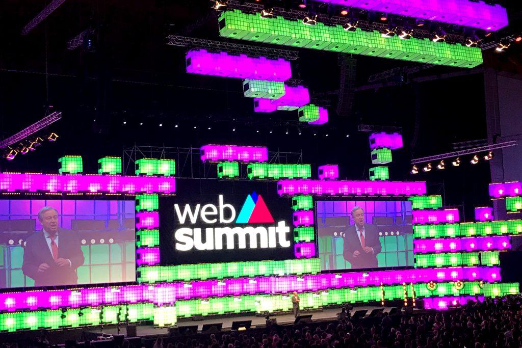 UN-Generalsekretär António Guterres –Web Summit 2018 Opening © Thomas Sommeregger