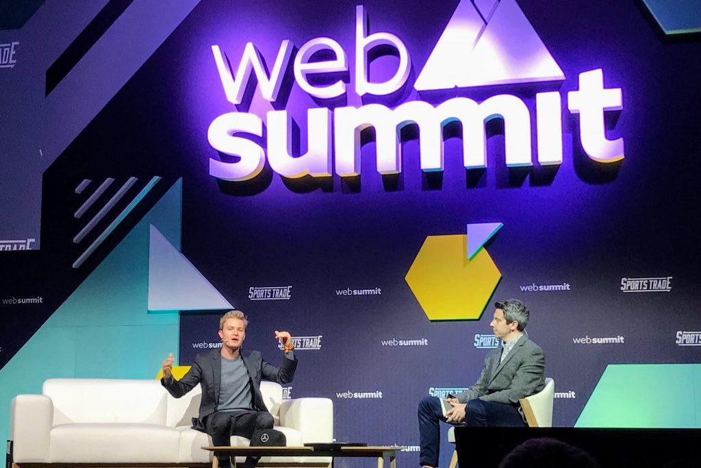 Nico Rosberg –Web Summit 2018 © Thomas Sommeregger
