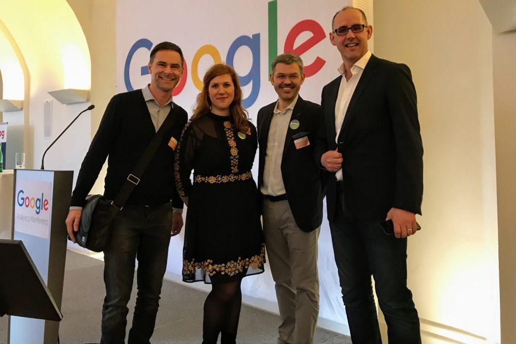 Als Speaker auf der Google Analytics Konferenz 2017