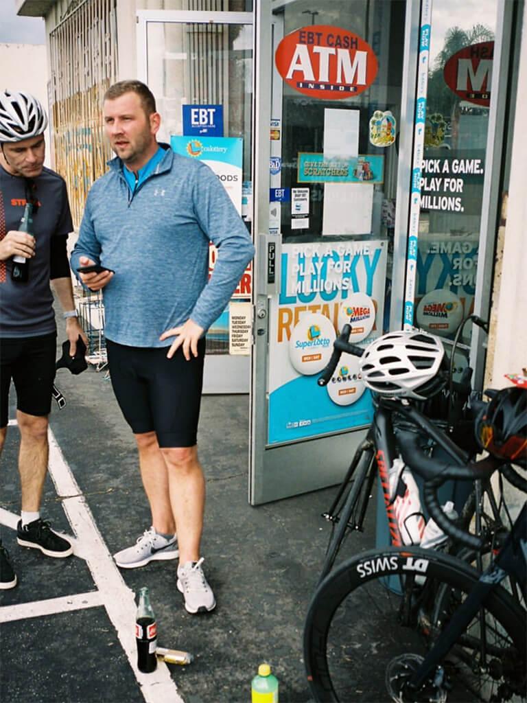PARI Bike Club - Erste Ausfahrt im Februar 2020 (Foto: Instagram @paulripke)