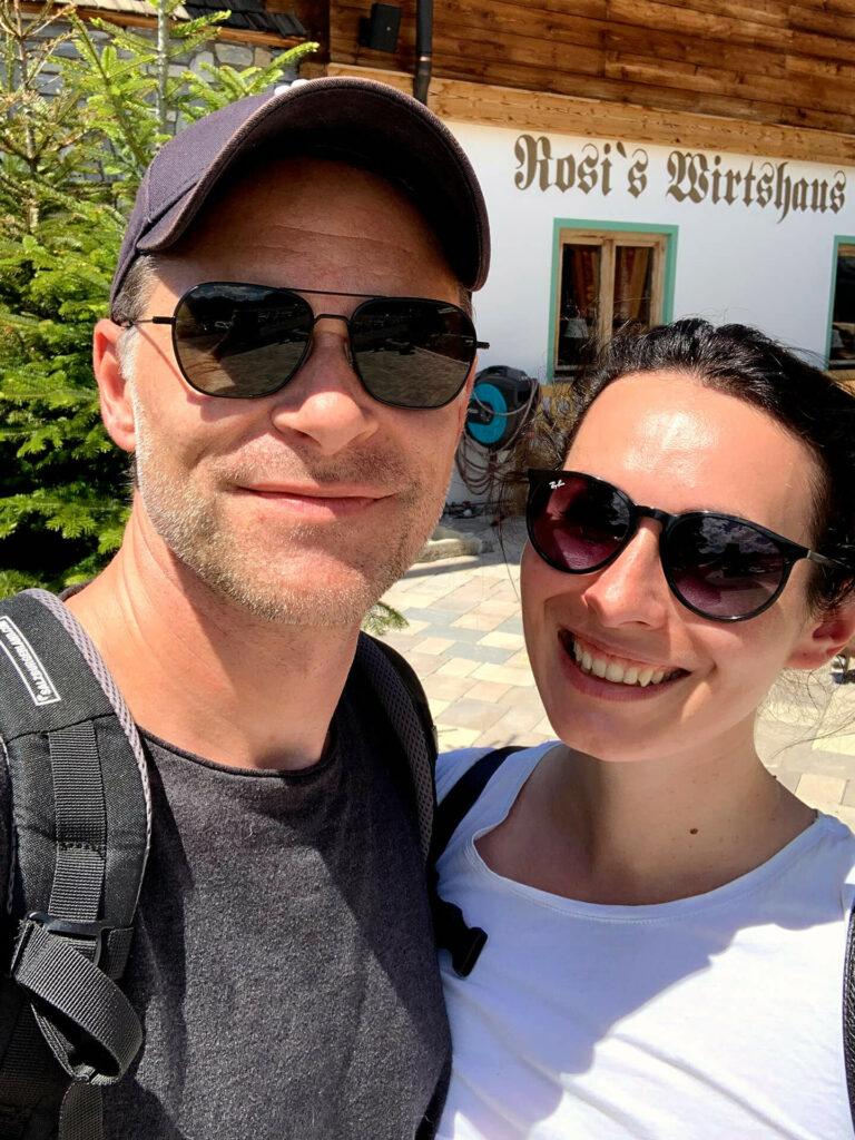 Wanderung zu Rosi's Sonnberg Stuben in Kitzbühel