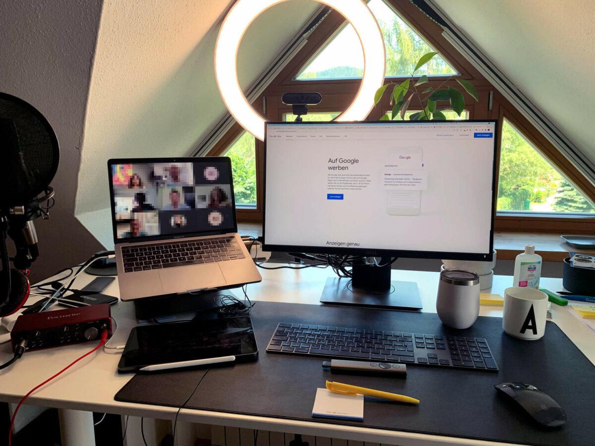 Geben und Nehmen, Google Ads Training via Live-Webinar (Foto: Thomas Sommeregger)