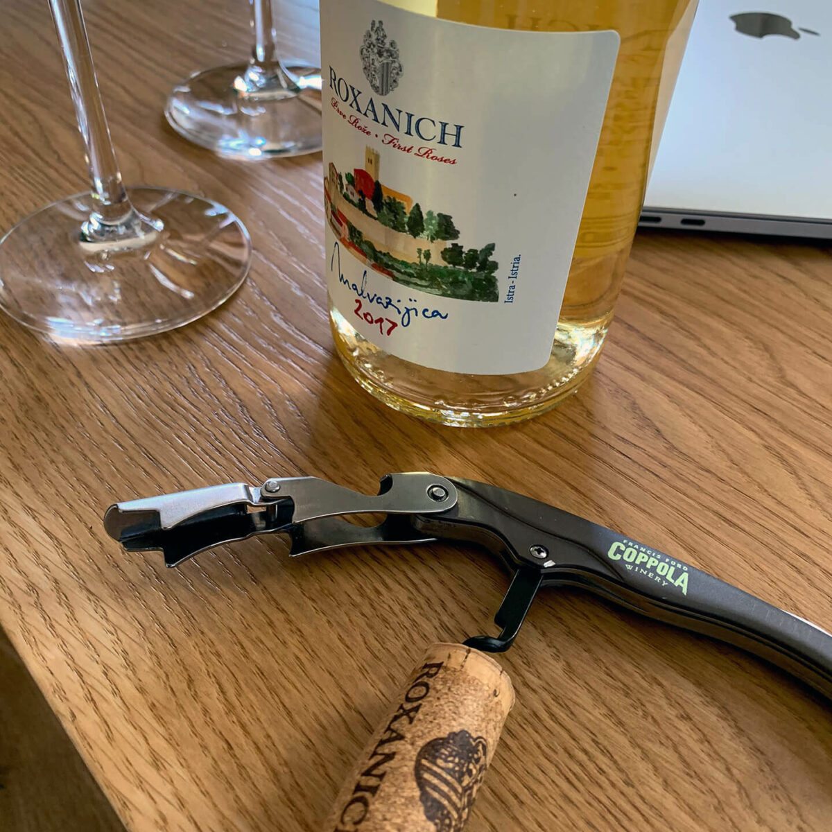 In vino veritas - ROXANICH Winery, Motovun (Foto: Thomas Sommeregger)