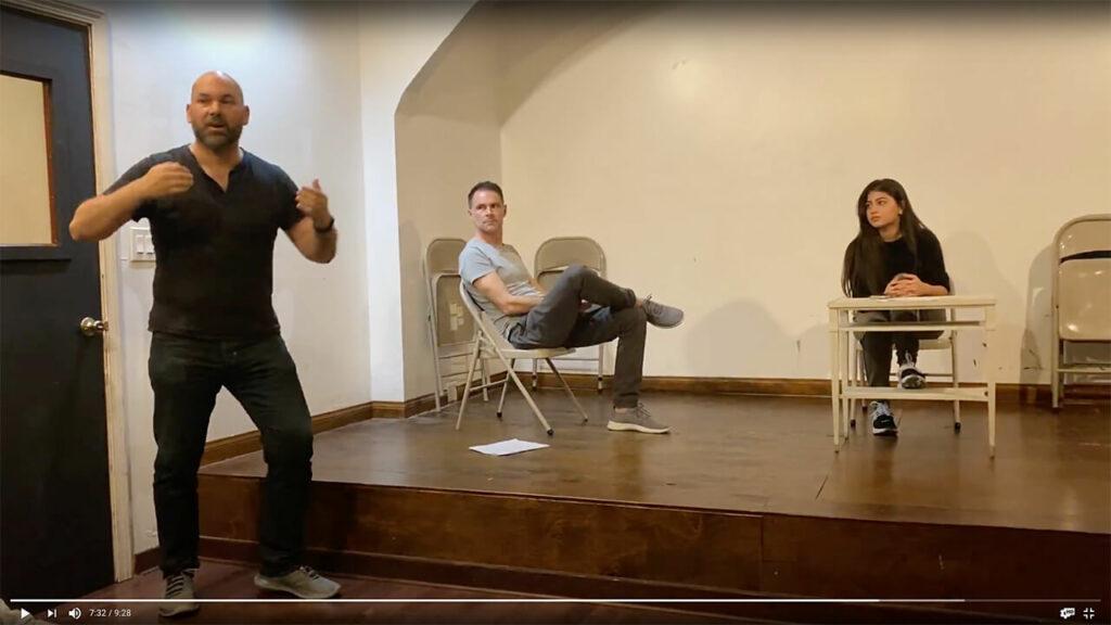 TV Scene Method Acting LSTFI (Foto: Thomas Sommeregger)