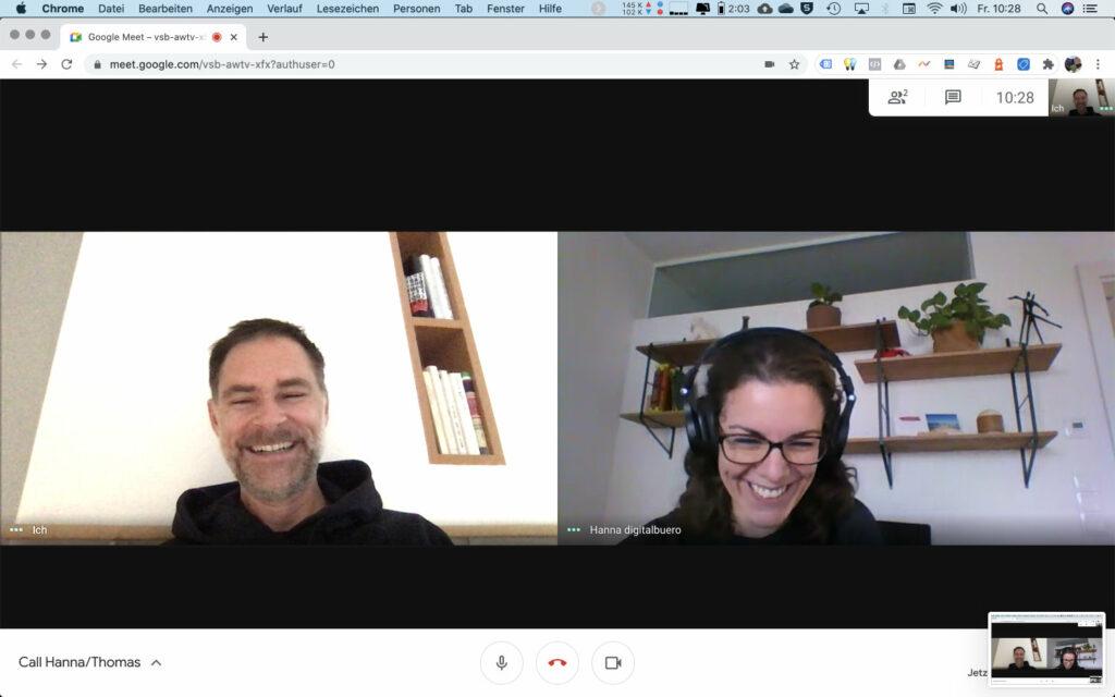 Google-Meet Update im Oktober 2020: Effizienz pur, Spaß inklusive!