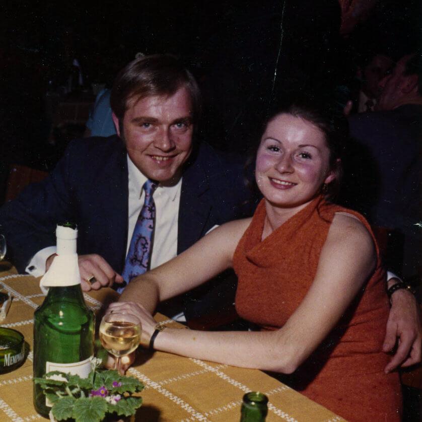 Meine Eltern in den 70ern