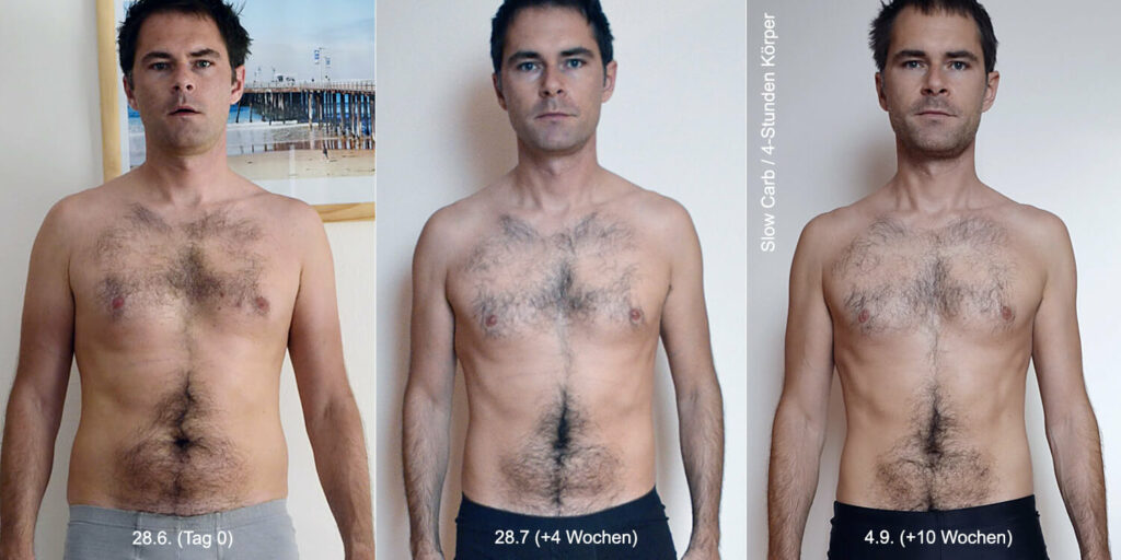 Slow Carb Diät / 4 Stunden Körper (Erfahrungsbericht & Foto: Thomas Sommeregger)