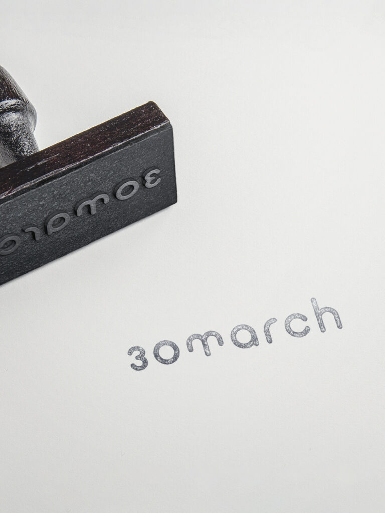 Stempel: 30march / lifestyle brand by Thomas Sommeregger